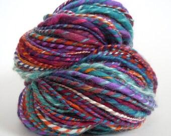 Mish-Mash Handspun Merino Silk Mohair Yarn 105g