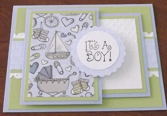 It's a BOY card w/ FREE SHIPPING