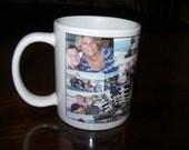 Personal Photo Collage Coffee Mugs - 11 oz Mugs