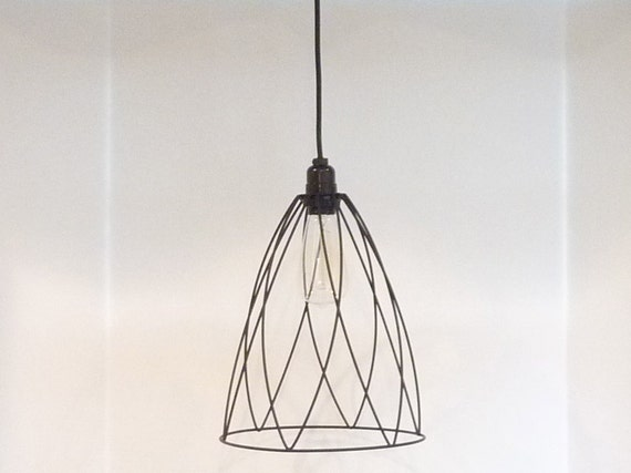 Industrial Style Black Hanging Pendant Light