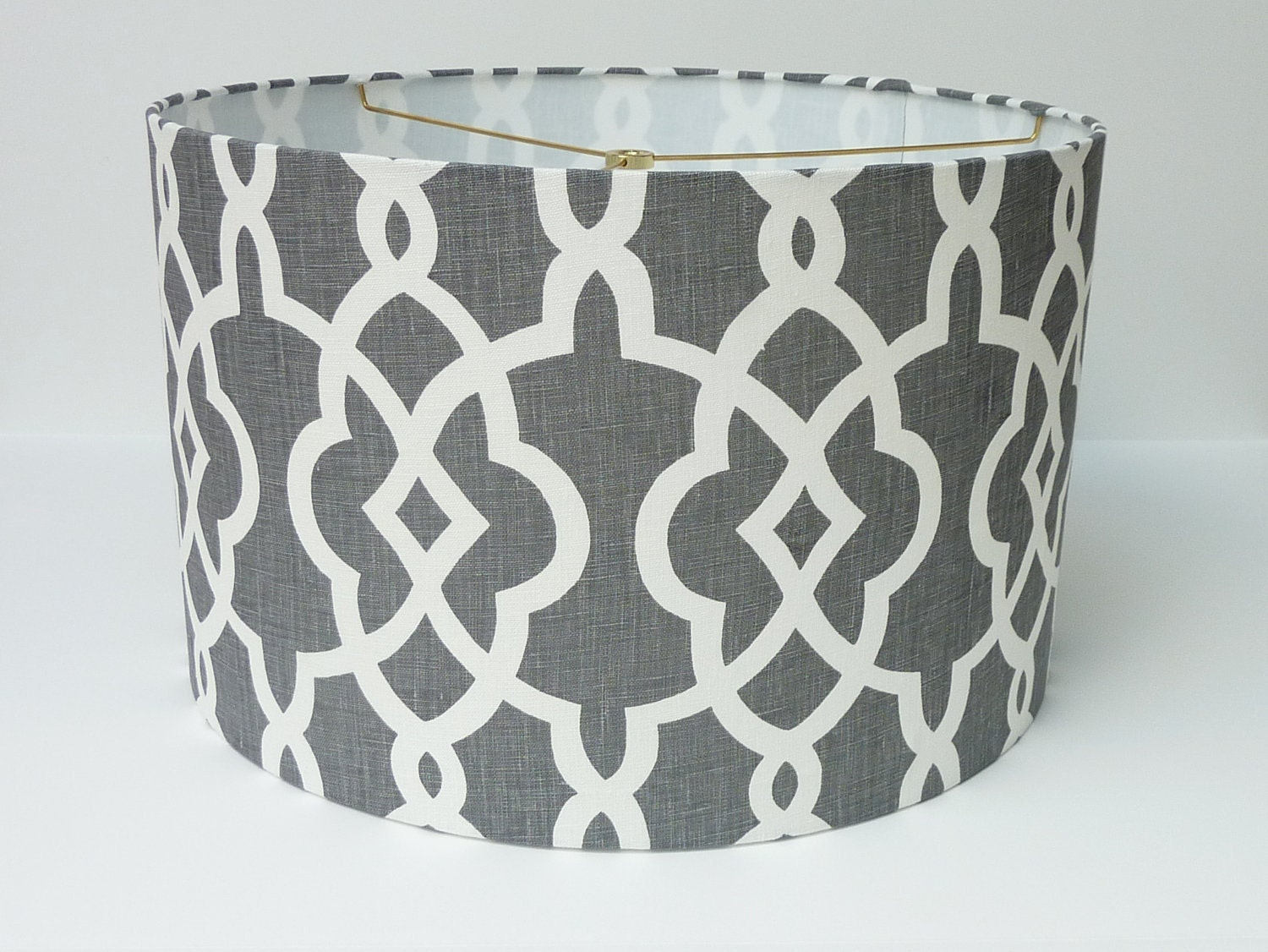 drum lamp shade lampshade in schumacher summer by. Black Bedroom Furniture Sets. Home Design Ideas
