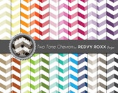 Printable Two Tone Chevron Patterns