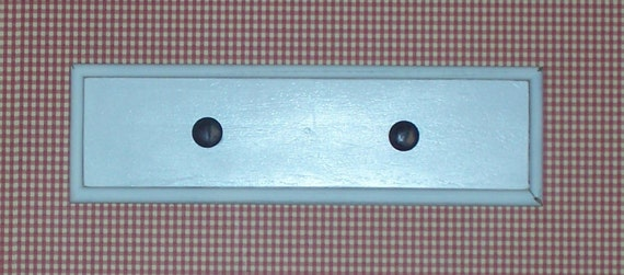 Reserved for Jaime Zarnosky -   Do not purchase Shabby chic coat rack key hook old farmhouse  upcycled Two Pieces