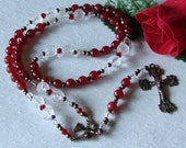 SALE - Chaplet of The Holy Spirit Devotional Chaplet - Confirmation Rosary - Holy Spirit Rosary - Confirmation Gift