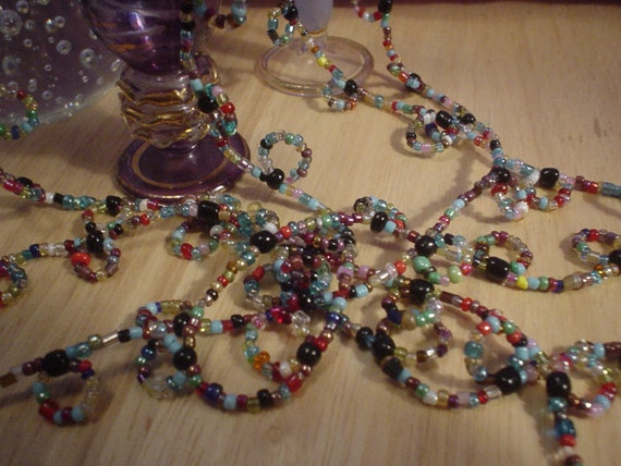 I did Loop It Beaded Necklace