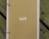 ThisPage Journal (biff): Handmade Ecofriendly Repurposed Creative