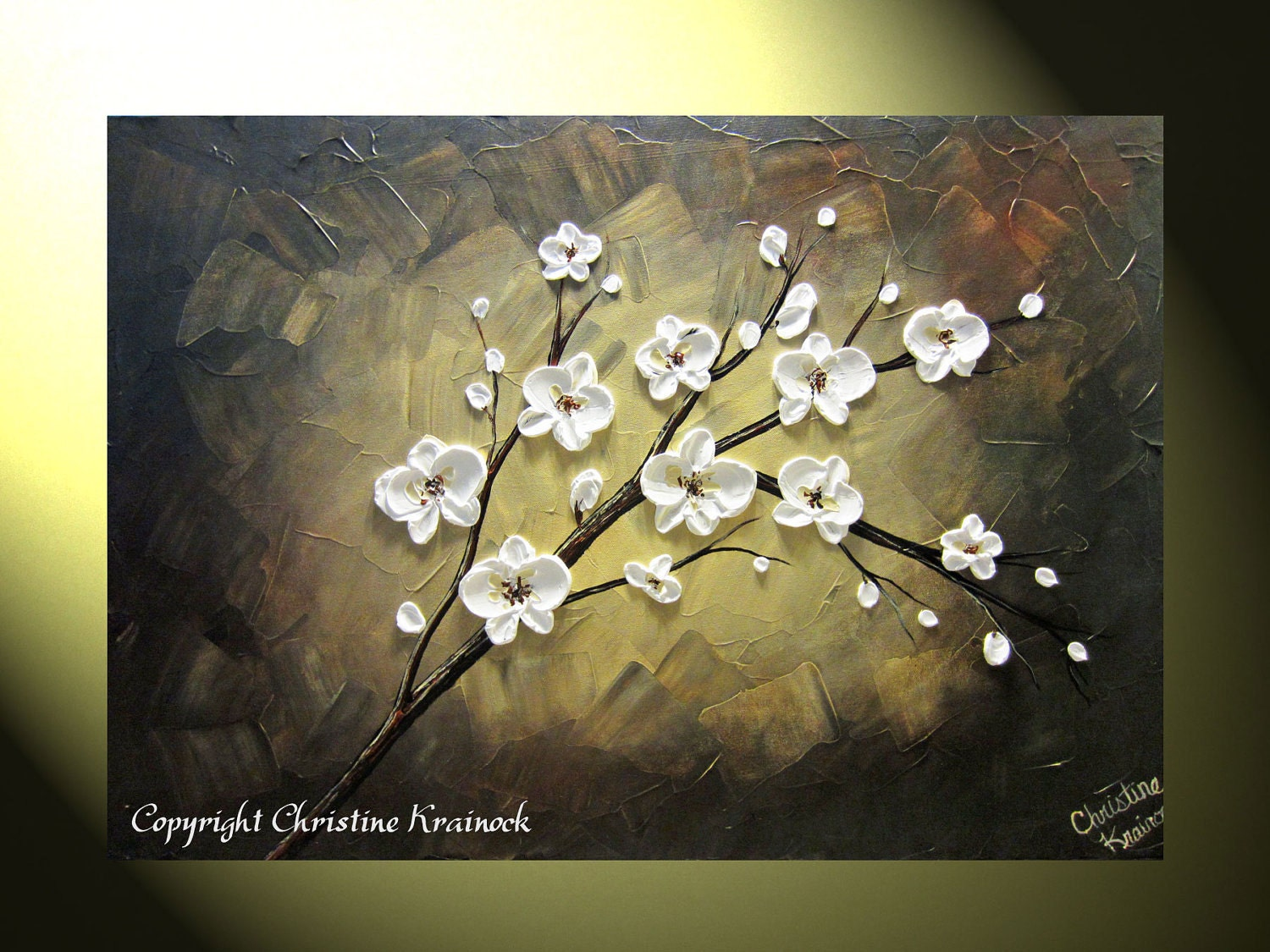abstract beautiful white flowers - photo #41