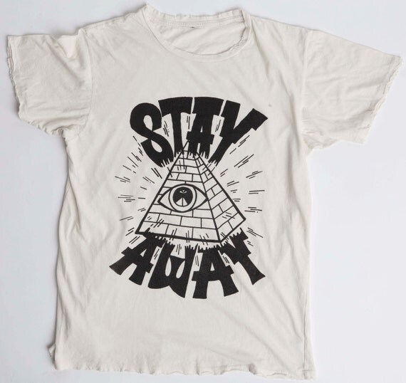 Small Off White Pyramid Eye Tee