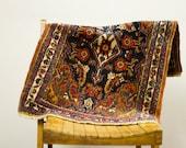 ON SALE! Colorful Vintage Persian Bijar Rug