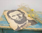 Antique Drawing of Abraham Lincoln
