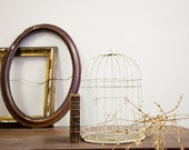 Shabby Chic Metal Birdcage