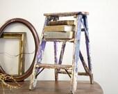 Chippy Vintage Painters Step Stool