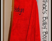Personalized Hooded Bath Towels/Beach Towels