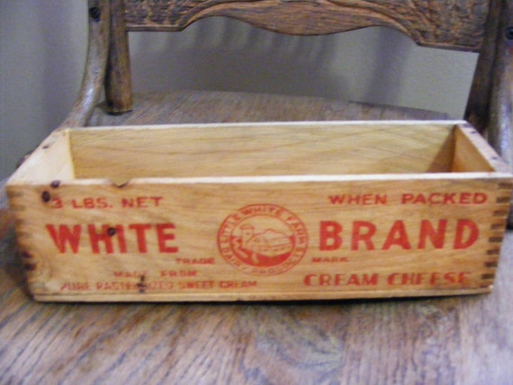 Early 1900's Cheese Box