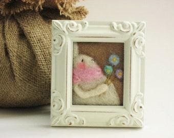 Easter Decor - Spring Decor - Easter Bunny - Spring Bunny - Pastel Decor