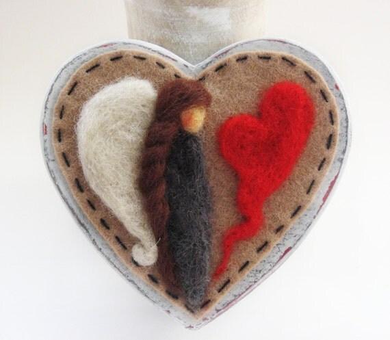 Valentine's Angel - Valentine's Box - Valentine's Decor - Valentine's gift