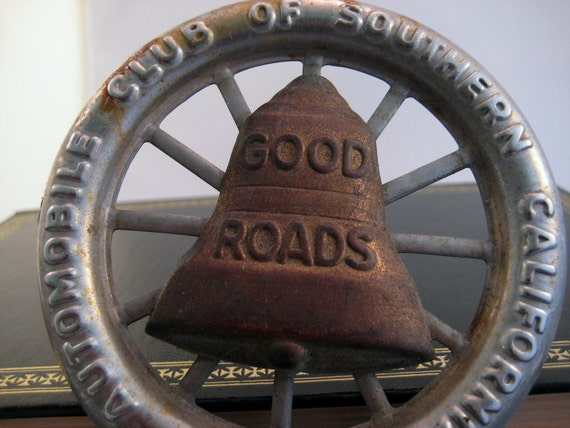 Antique License Topper AAA Good Roads