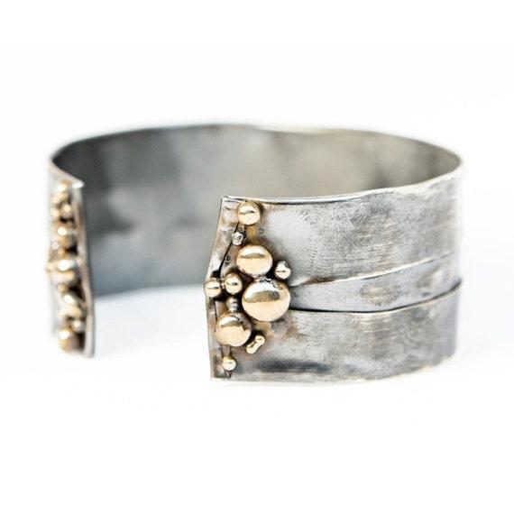 Continental Divide Cuff Silver