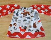 From Russia With Love - Girls Peasant Dress Size 3 Years