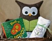 Peek a Who, Baby Book Basket