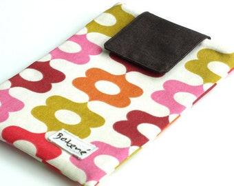 Sale! iPad Mini Case, Pink Jelly tablet cover, Pink Kobo Case, Nexus tablet padded cover, iPad mini multicolr cover