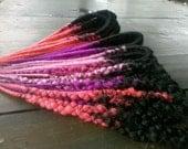 Long custom made-30 DE or 60 SE dreads