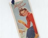 Vintage Bookmark Players Cigarettes JR222