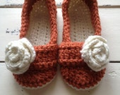 Womens slippers, Crochet slippers, Spa Slippers
