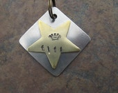 Pet Tag - Customize Silver, Brass, Copper Stamped