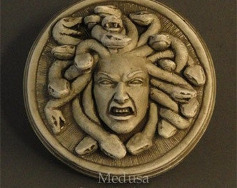 Medusa wall plaque - by Jay Hungate, copyright JWH Studio