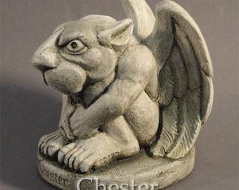 Chester gargoyle by Jay W. Hungate