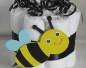 Reserved LoisMini diaper cake baby bumble bee great decoration, baby shower or new baby gift