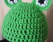Infant Frog Hat