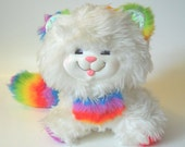 Rare 1983 Kitty Brite Plush from Rainbow Brite Toy Line