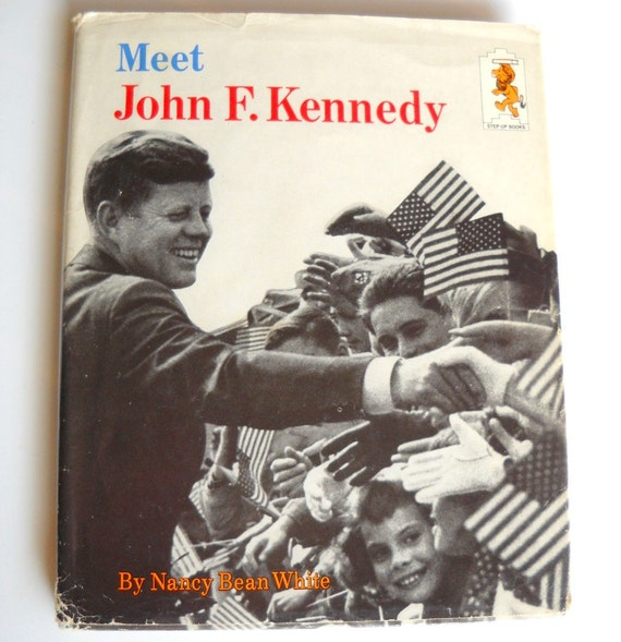Items Similar To Vintage Jfk Biography Book For Kids 1960s