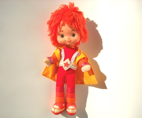 Rainbow Brite Red Butler Doll: Vintage 1980s Toy