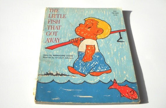 1960s childrens book the little fish that got away for Children s books about fish