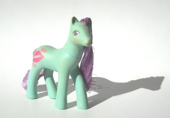 Vintage My Little Pony Ruby Lips