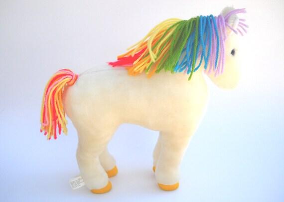 Rainbow Brite's Horse Starlite: 12 inch Plush by Mattel