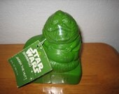 Vintage STAR WARS Jabba The Hutt Shampoo sealed Omni Cosmetics   1983    Never been used