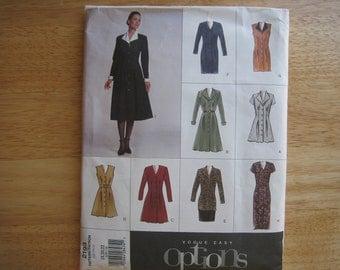 Vogue Pattern 2193 Misses' Dress, Tunic & Skirt    2001    Uncut