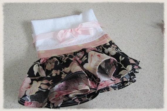 la Fleur Feedsack Towels for Kitchen, Utility Room, Bathroom