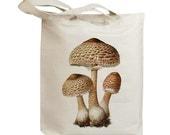 Mushroom 13 Vintage Eco Friendly Canvas Tote Bag (ixp013)