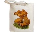 Mushroom 22 Vintage Eco Friendly Canvas Tote Bag (ixp022)