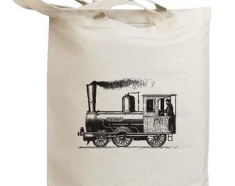 Retro Train 05 Eco Friendly Tote Bag (id0025)
