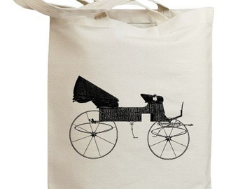 Retro Carriages and Coaches 06 Eco Friendly Canvas Tote Bag (id0065)