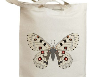 Butterfly 09 Eco Friendly Canvas Tote Bag (id0093)