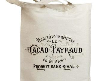 Retro Vintage Label 02 Eco Friendly Canvas Tote Bag (id0120)