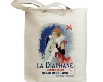 La Diaphane European Poster Ad Eco Friendly Tote Bag (id5320)