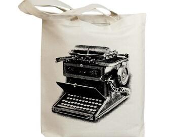 Retro Typewriter 06 Eco Friendly Canvas Tote Bag (id6705)